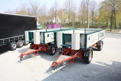 2 Achs Drehschemel Anhänger mit 2 Seiten Kippaufbau (2)