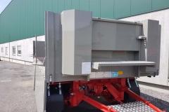 2 Achs Drehschemel Anhänger mit Baustoffpritsche (2)