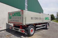 2 Achs Drehschemel Anhänger mit Baustoffpritsche (3)