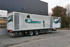 2 Achs Sattelauflieger mit Kofferaufbau fuer mobile Werkstatt und Maschinenraum (1)