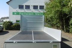 Aluminium Bordwandaufbau für  Transporterklasse mit multifunktionaler Ladungssicherung (3)