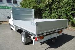 Aluminium Bordwandaufbau für  Transporterklasse mit multifunktionaler Ladungssicherung (4)