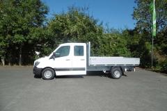 Aluminium Bordwandaufbau für  Transporterklasse mit multifunktionaler Ladungssicherung (5)