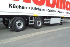 LANG-Auflieger TYP 1  mit Kofferaufbau für Möbeltransport
