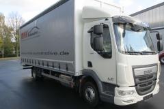 Schiebespann-Planenaufbau auf LKW Fahrgestell mit festem Planendach (3)