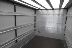 Verdeckgestell auf einer Werkspritsche mit spezieller Ladungssicherung für den Neumöbeltransport (4)